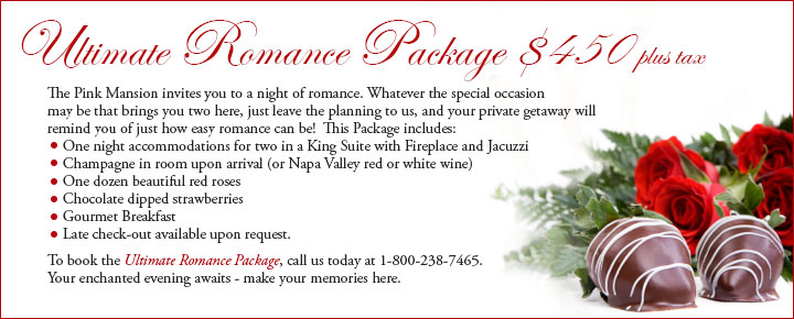 Pink Mansion Ultimate Romance Package